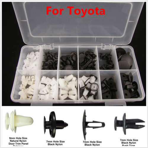 292PCS CAR FENDER DOOR HOOD BUMPER TRIM CLIP BODY RETAINER ASSORTMENT FOR TOYOTA