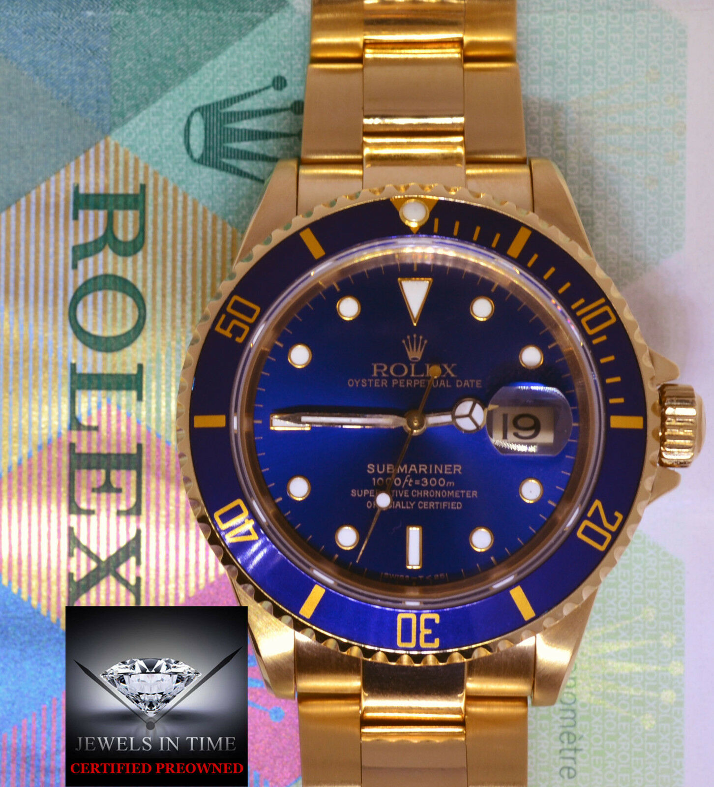 bezel blue submariner dial factory slate and yellow sub mariner gold rolex watches serti model