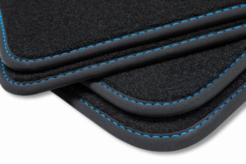 Premium Fußmatten für BMW 5er E60 E61 Kombi Touring Limo 2003-2010