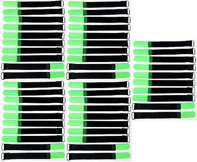 50 Velcro Fascette Per Cavi M. Occhione 160 X 16 Mm Verde Neon Fascette Per Cavi In Velcro Cavo Velcro-er M. Öse 160 X 16 Mm Neongrün Kabelbinder Klettband Kabelklett It-it Mostra Il Titolo Originale
