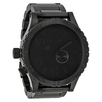 Nixon 51-30 Tide Subdial All Black Mens Watch A057001