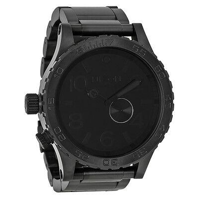 Nixon 51-30 Tide Subdial All Black Mens Watch A057001