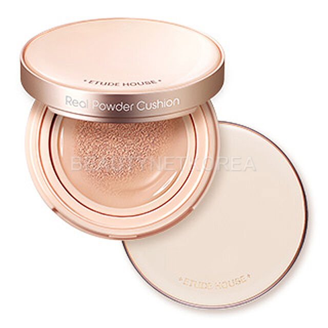 [ETUDE HOUSE] Real Powder Cushion (SPF50+ PA+++)14g 3 Color / Amazing