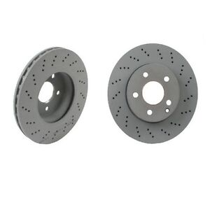 Set of 2 Genuine Mercedes Front Brake Rotors  C250 C300 with Sport Package