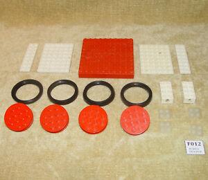 LEGO-Sets-Samsonite-Supplemental-057-1-4-Large-Wheels-1966-100-Vintage-Old