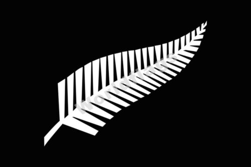 New Zealand Silver Fern Flag 3x2ft 5x3ft 6x4ft 8x5ft 100d Polyester Banner Yard Garden Outdoor Living Garden Décor