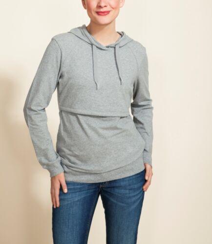 long sleeve breastfeeding hooded tops Boob Nursing Hoodie