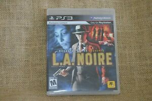 L.A. Noire (Sony PlayStation 3, 2011) PS3