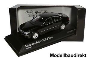 Auto- & Verkehrsmodelle Modellbau Gehorsam Mercedes Clk Coupe In Schwarz Bj 2002 1:43 Minichamps 400031421 Neu & Ovp Elegant Und Anmutig