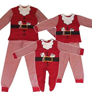 scarpe sportive 2a8f8 1ae70 Dettagli su Famiglia Mamma Papà Bambini Bimbo Christmas Babbo Natale  Festive Pigiama