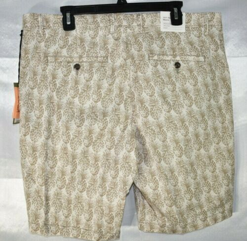 """taille 40 GOODFELLOW Homme Short Chino Ananas Imprimé Plat 10.5/"""" - O. T.N devant"""