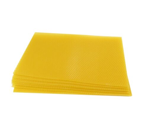 National Beehive Unwired Wax Foundation: Deep/Brood x 100 sheets
