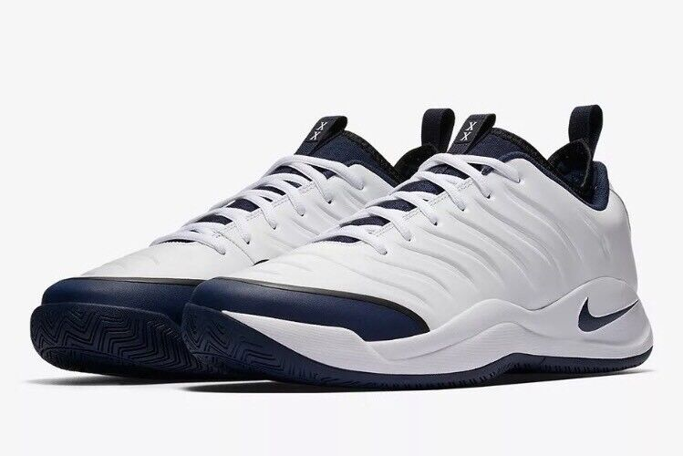 New Nike Air Oscillate XX Men's Size 13 White Midnight Navy Black 918195-104