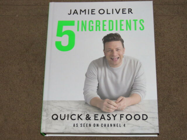 5 Ingredients - Jamie Oliver Quick & Easy Food - Cook Book NEW