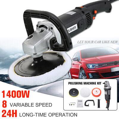 1580W 220V Car Polisher Buffer Sander Polishing Waxing Machine Kits Set