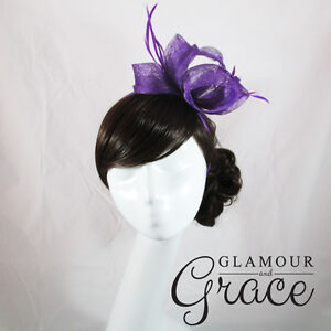 Azalea-Purple-Fascinator-Hatinator-Headpiece-Headband-Races-Melbourne-Cup-Hat