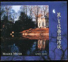 Malice Mizer - 麗しき仮面の招待状 JAPAN CD 1995 visual kei Gackt