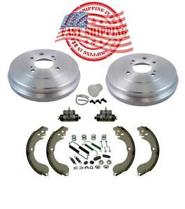 2009 2010 2011 2012 2013 2014 for Nissan Cube Brake Drum and Shoes
