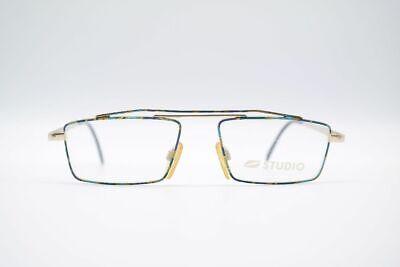 Billiger Preis Vintage Studio Playtime 308 53[]18 140 Bunt Eckig Brille Eyeglasses Nos