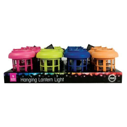 Lanterna solare con gancio luce a LED Vari Colori