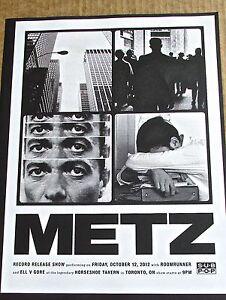 Metz-Mini-Concert-Poster-Reprint-for-2012-Toronto-ON-Concert-14x10