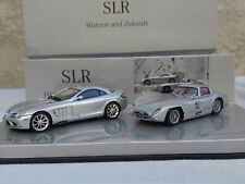 Mercedes Benz SLR 50 years set 1:43 by Minichamps