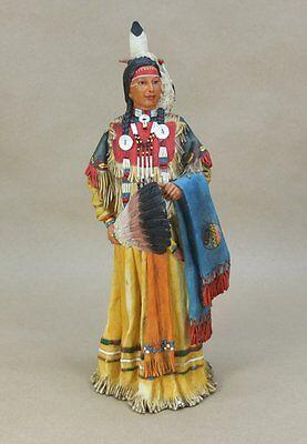 Veronese Figur Indianer Squaw - ca. 32 cm hoch