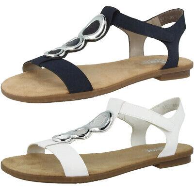 Rieker 64265 Damen Antistress Sandalen Freizeit Schuhe XIIee