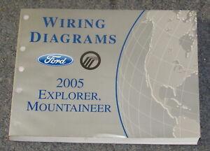 2005 Ford Explorer Mercury Mountaineer Wiring Diagram ...
