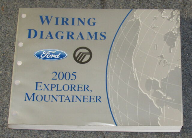 2005 Ford Explorer Mercury Mountaineer Wiring Diagram Service Manual