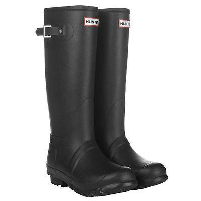 Hunter Original Tall Wellington Wmn's Boots WFT1000RMA Welly Black SZ:5-11 *NIB*