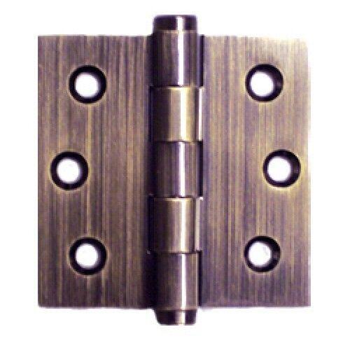 Antique Olive Knuckle Door Hinges Original Reclaimed Heavy Brass