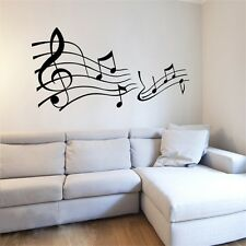Vinyl Decal Removable Sticker Paper Music Note Pattern Graffiti Wall Home Decor