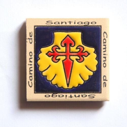 Camino de Santiago Pilgrim Tile Way Of St. James Fridge magnet (5 of 5)