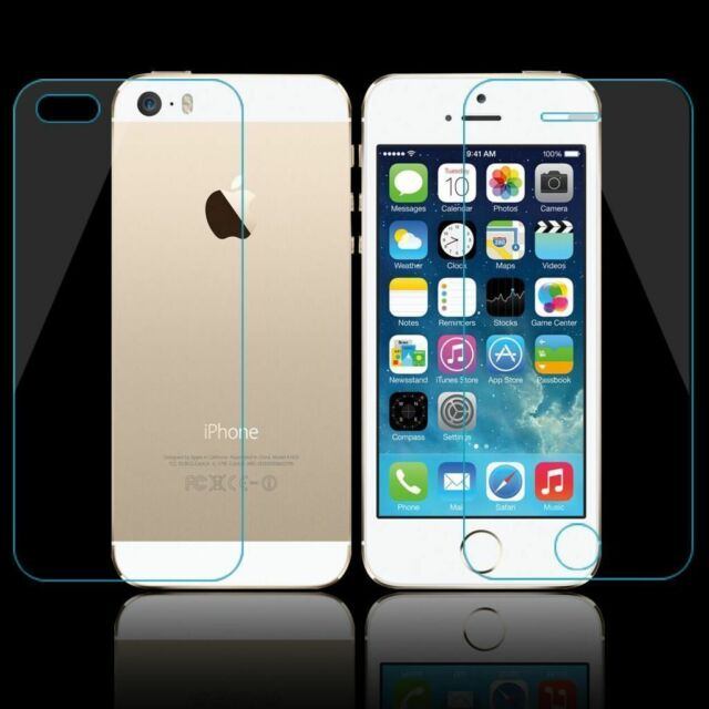 100% Genuine Screen Protector Tempered Glass Front And Back For iPhone 6S
