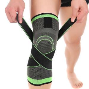 3D-Weben-Verband-Kniebandage-Bandage-Wickeln-Schutz-Sport-Laufen-Joggen