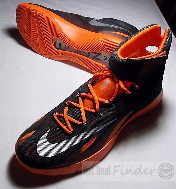 NEW NIKE ZOOM = SIZE 15.5 = HYPERREV MENS BASKETBALL SHOES 643301-016