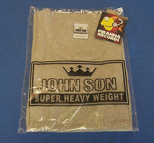John-Son-Premium-Quality-Gray-A-STYLE-Tank-Top-3XL-100-Cotton-Piranha-Records