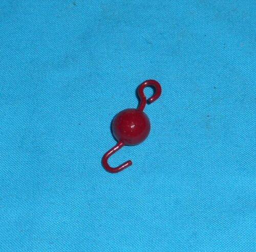 meccano 1 crochet lesté rouge petit No57c