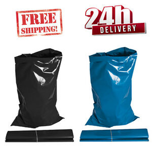 EXTRA-STRONG-HEAVY-DUTY-BLACK-BLUE-RUBBLE-BAGS-SACKS-BUILDERS-NEXT-DAY-EXPRESS