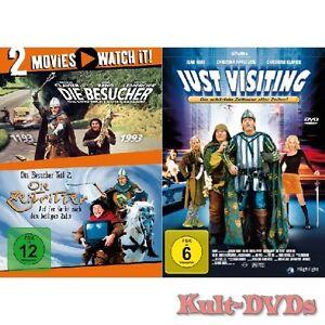 Die-Besucher-1-2-Die-Zeitritter-Just-Visiting-3-DVD-Set-Jean-Reno-Neu-OVP