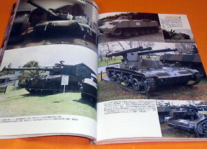 Rare-Perfect-Guide-of-Japanese-TANK-72models-book-japan-ww1-ww2-0405