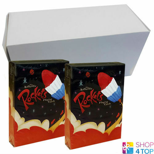 12 DECKS ELLUSIONIST ROCKETS PLAYING CARDS DECK BICYCLE MAGIC SEALED BOX CASE
