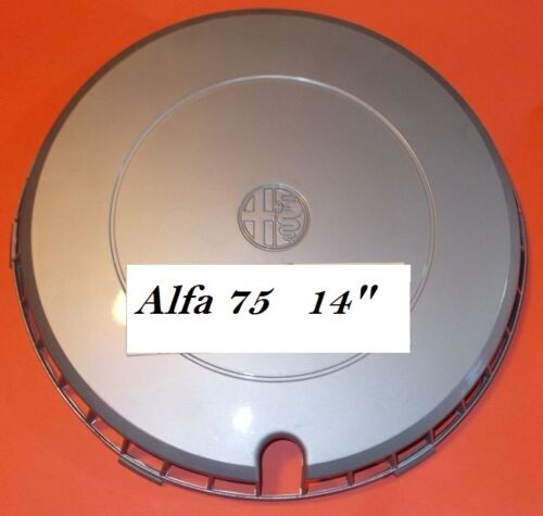 "Coppa ruota 14/"" Alfa 75"