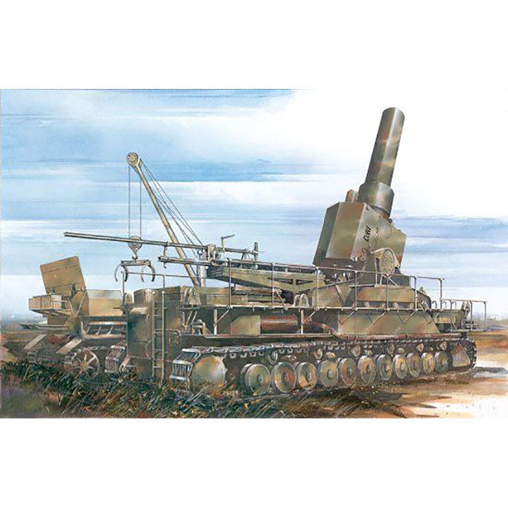 Dragon  35 Self-Propelled Mortar 54cm Morser  Loki  Gerat 041