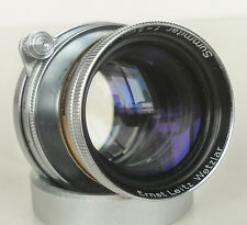 LEICA SUMMITAR 50mm f/2 COLLAPSIBLE LTM SCREW MOUNT LENS
