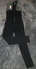 LADIES JUNIORS  BLACK STYLE  ROMPER JUMPER PANTS SIZE L