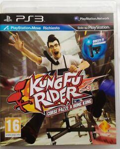 Gioco-PS3-Kung-Fu-Rider-Corse-pazze-a-Hong-Kong-Sony-Playstation-3-Usato