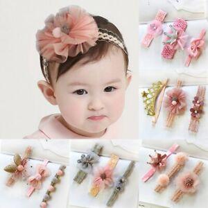 3Pcs-Baby-Headband-Crown-Flower-Bows-Girl-Newborn-Elastic-Baby-Hair-Band-Turban