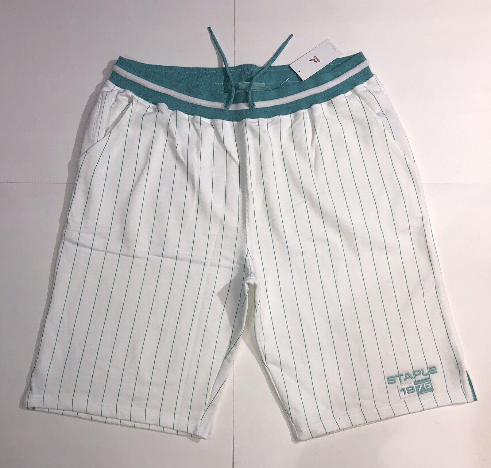Staple Sweat-Shorts Wht Sz. 3xl NWT Retail   100% Authentic